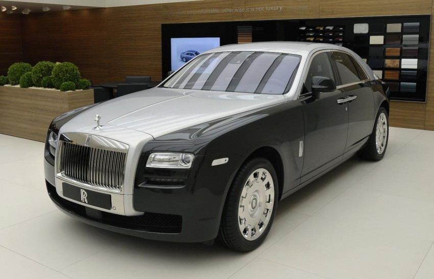 Rolls-Royce Ghost – two-tone bespoke option introduced Image #92200
