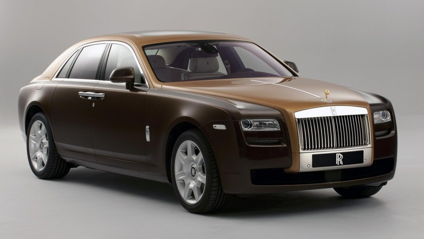 Rolls-Royce Ghost – two-tone bespoke option introduced Image #92198