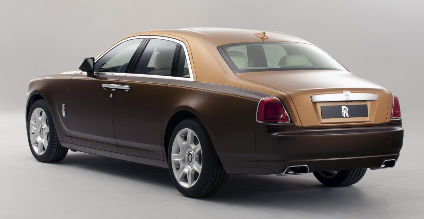 Rolls-Royce Ghost – two-tone bespoke option introduced Image #92199