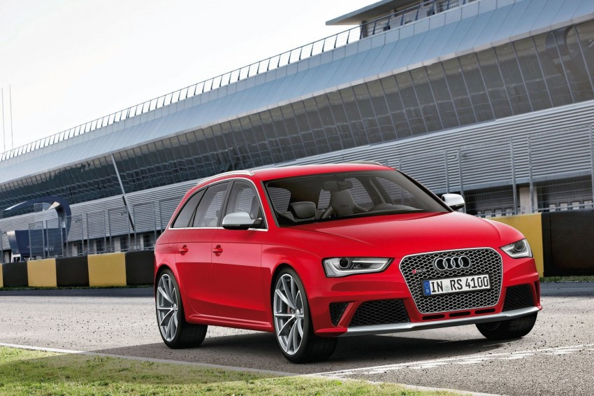 Audi RS4 Avant – a 450 hp wagon wet dream Image #112946