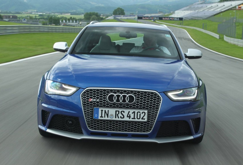 Audi RS4 Avant – a 450 hp wagon wet dream Image #112959