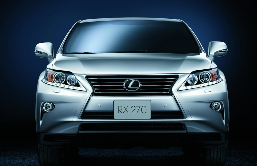 Lexus RX facelift arrives – four in all, RM356k to RM525k Image #105558