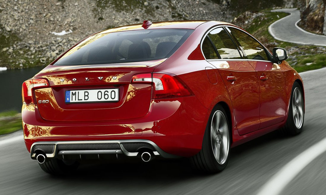 2012 Volvo S60 RDesign to get more power  325 hp