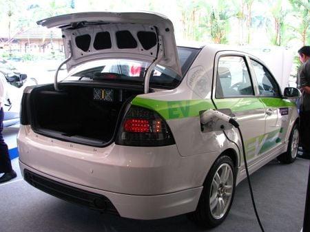 The UTM/Proton-developed Saga EV breaks cover Image #47379