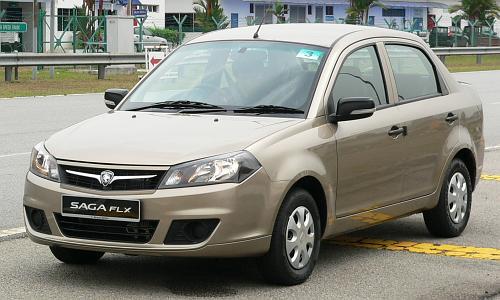 Proton Saga FLX 1 3L - first drive impressions