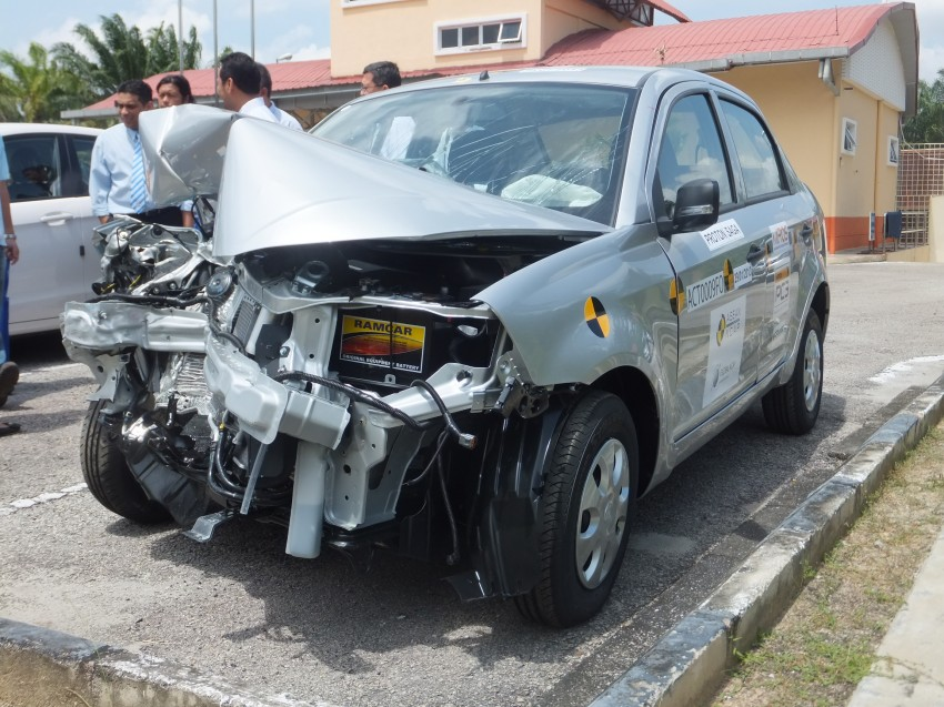 ASEAN NCAP first phase results released for eight models tested – Ford Fiesta and Honda City get 5 stars Image #151952
