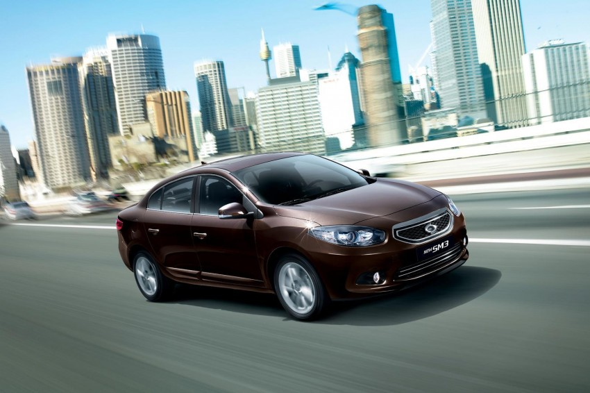 2013 Renault Samsung SM3 launched in Korea, previews facelift Euro-market Fluence Image #128337