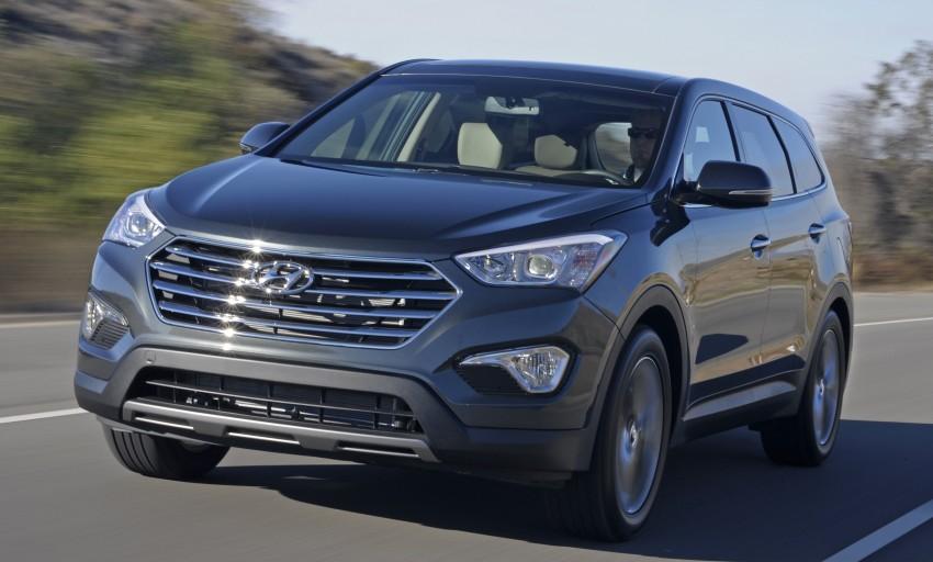 Hyundai Santa Fe – seven-seater version debuts Image #144182