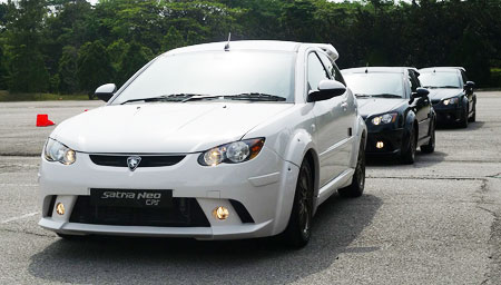 Cps Car Loan >> Proton Satria Neo CPS: parking lot test review