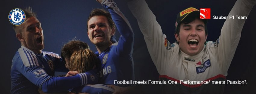 Sauber F1 Team enters into partnership with Chelsea FC Image #103786