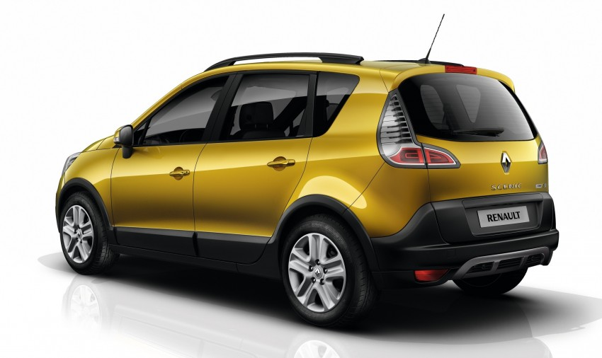 Renault Scénic XMOD crossover to debut in Geneva Image #152506