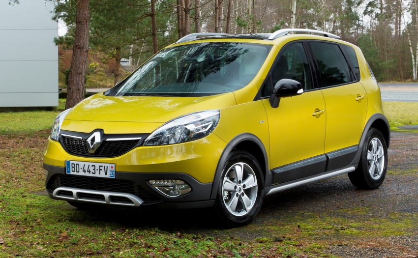 Renault Scénic XMOD crossover to debut in Geneva Image #152503