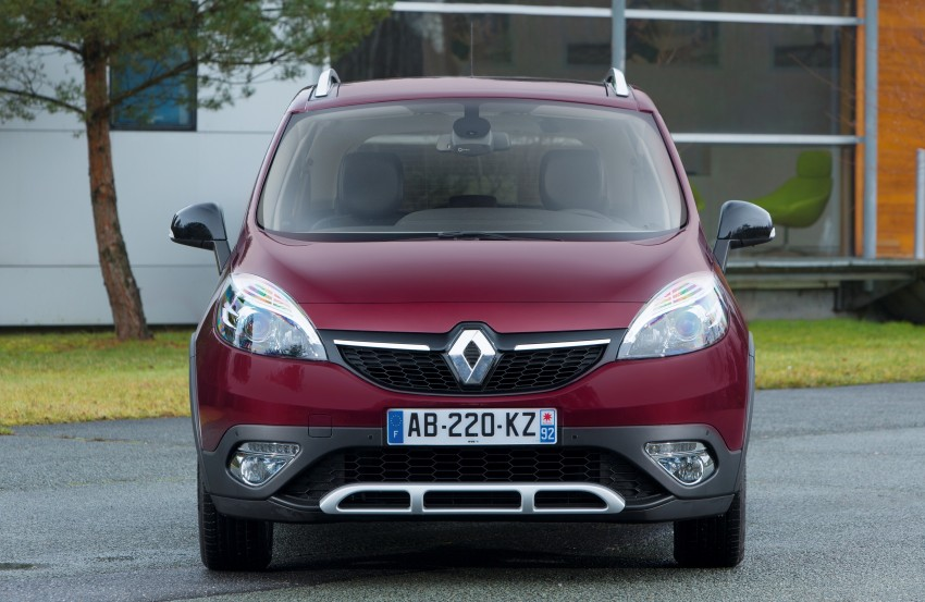 Renault Scénic XMOD crossover to debut in Geneva Image #152495