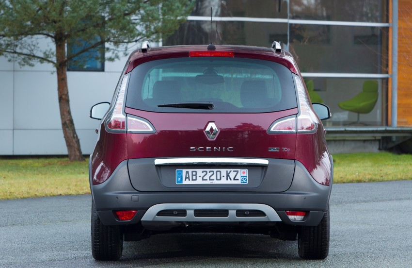 Renault Scénic XMOD crossover to debut in Geneva Image #152494