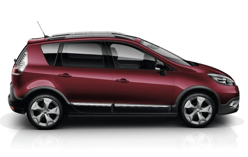 Renault Scénic XMOD crossover to debut in Geneva Image #152624