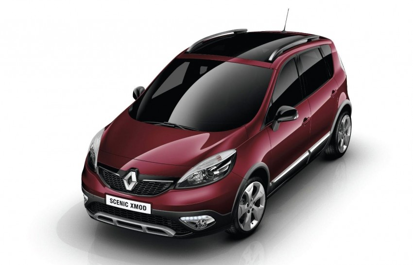 Renault Scénic XMOD crossover to debut in Geneva Image #152622