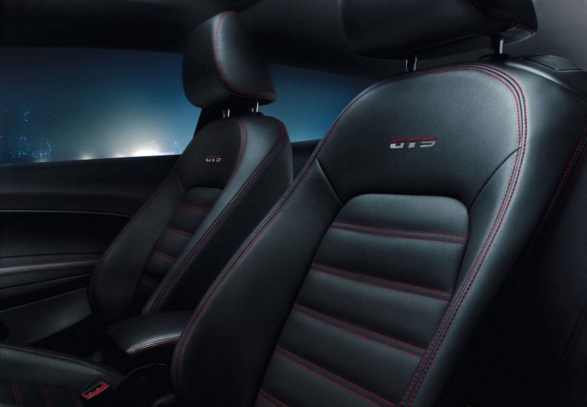 Volkswagen Scirocco GTS – racy looks inside out Image #110393
