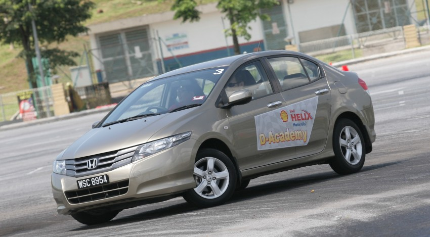 Shell Helix D-Academy: 42 participants walked away as better drivers! Image #88389