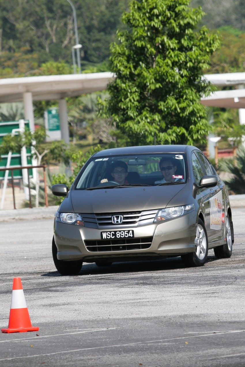 Shell Helix D-Academy: 42 participants walked away as better drivers! Image #88681