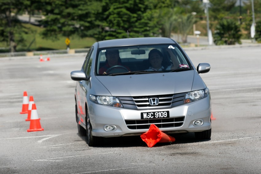Shell Helix D-Academy: 42 participants walked away as better drivers! Image #88682
