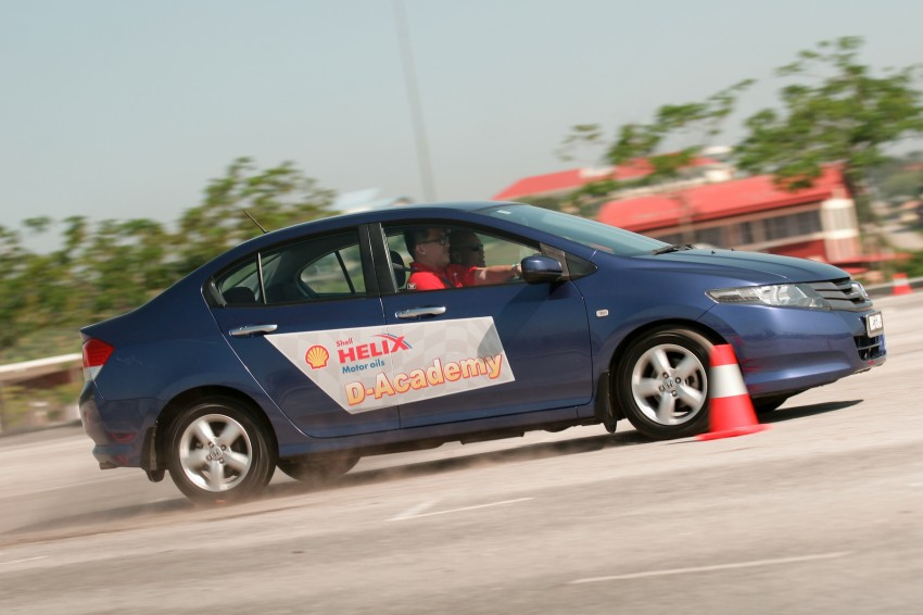 Shell Helix D-Academy: 42 participants walked away as better drivers! Image #88683