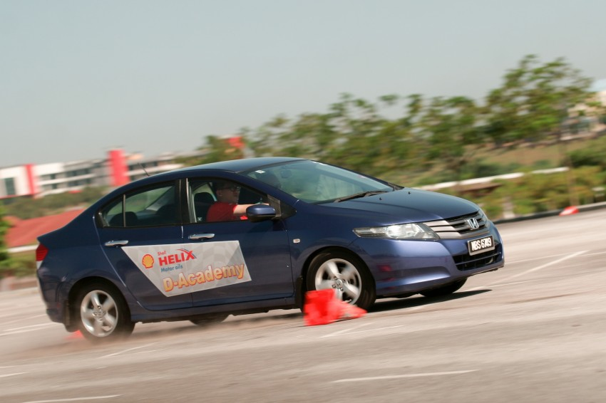 Shell Helix D-Academy: 42 participants walked away as better drivers! Image #88684