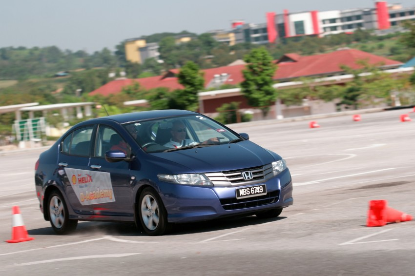Shell Helix D-Academy: 42 participants walked away as better drivers! Image #88685