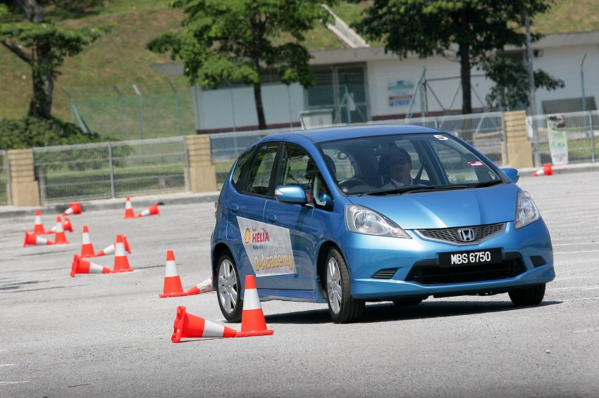 Shell Helix D-Academy: 42 participants walked away as better drivers! Image #88690