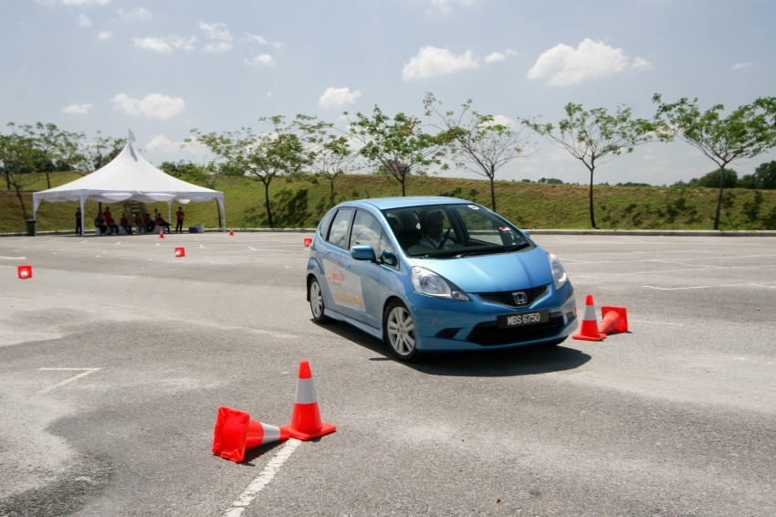Shell Helix D-Academy: 42 participants walked away as better drivers! Image #88696