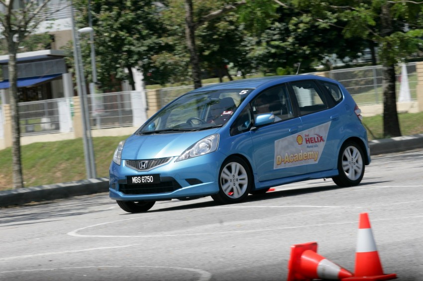 Shell Helix D-Academy: 42 participants walked away as better drivers! Image #88697