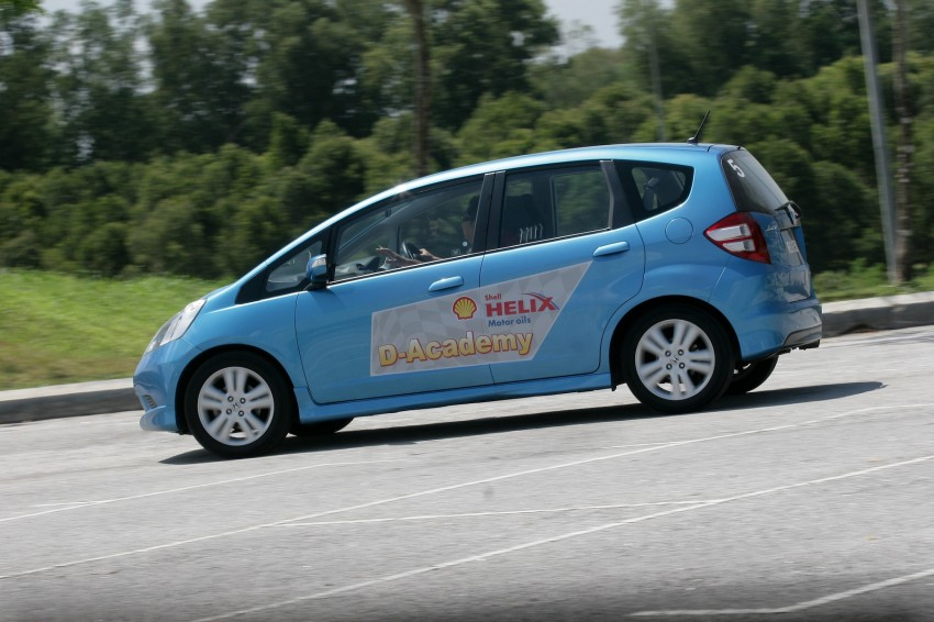 Shell Helix D-Academy: 42 participants walked away as better drivers! Image #88698