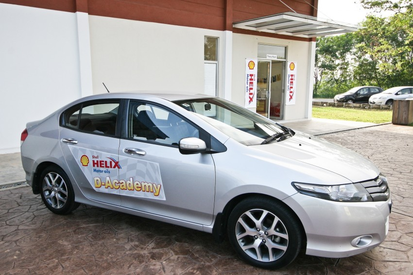 Shell Helix D-Academy: 42 participants walked away as better drivers! Image #88673