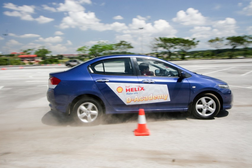 Shell Helix D-Academy: 42 participants walked away as better drivers! Image #88702