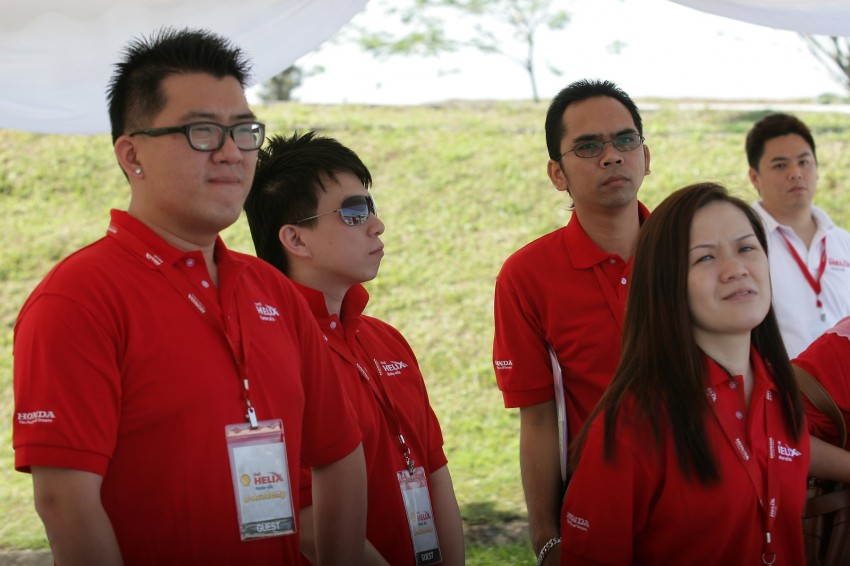 Shell Helix D-Academy: 42 participants walked away as better drivers! Image #88703