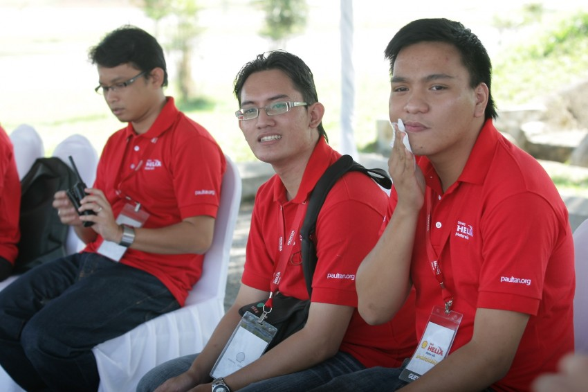 Shell Helix D-Academy: 42 participants walked away as better drivers! Image #88705