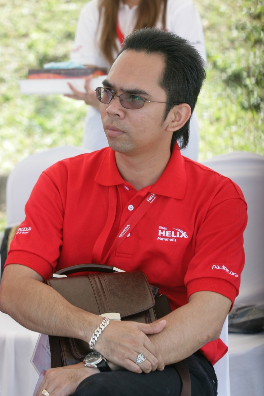 Shell Helix D-Academy: 42 participants walked away as better drivers! Image #88706