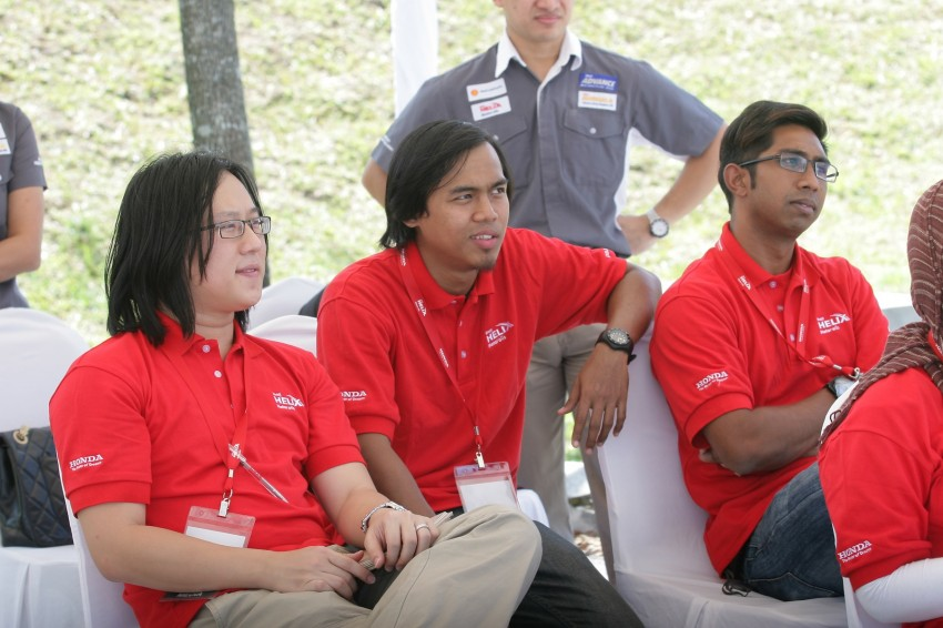 Shell Helix D-Academy: 42 participants walked away as better drivers! Image #88707