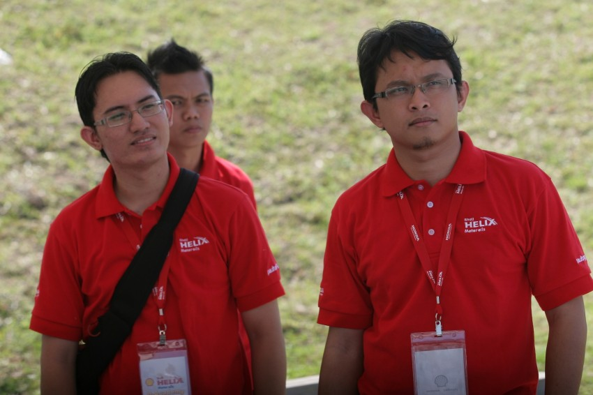 Shell Helix D-Academy: 42 participants walked away as better drivers! Image #88708