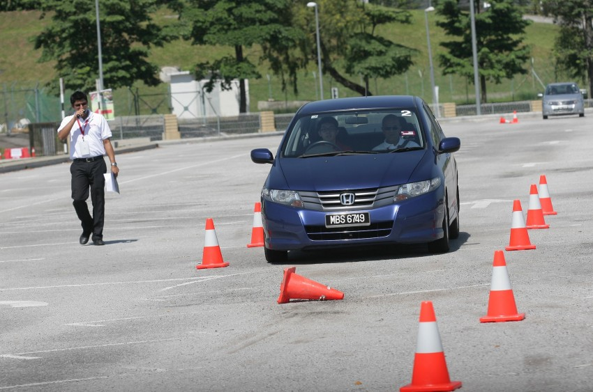 Shell Helix D-Academy: 42 participants walked away as better drivers! Image #88386