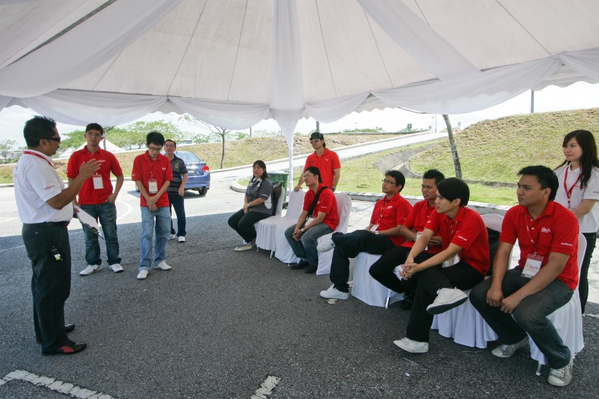 Shell Helix D-Academy: 42 participants walked away as better drivers! Image #88711