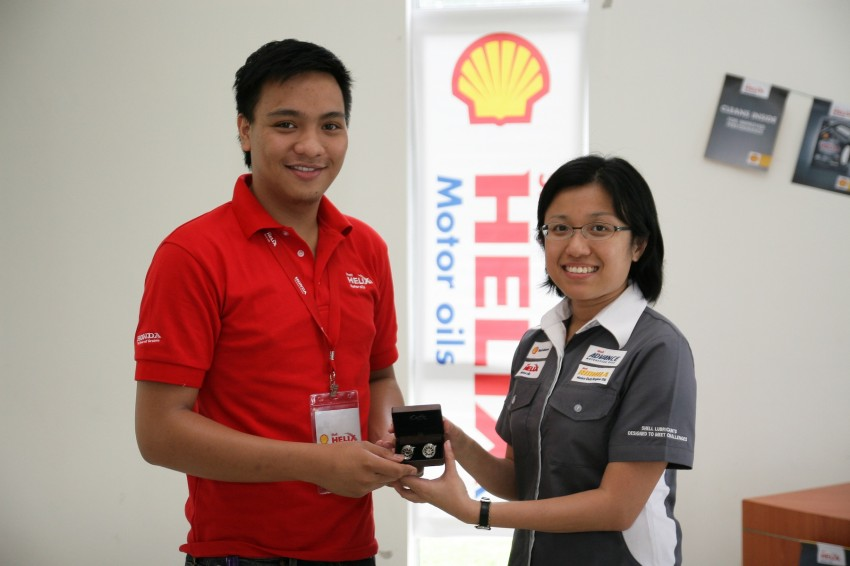 Shell Helix D-Academy: 42 participants walked away as better drivers! Image #88712