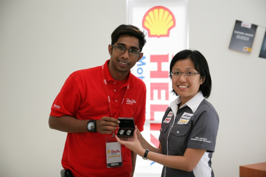 Shell Helix D-Academy: 42 participants walked away as better drivers! Image #88714