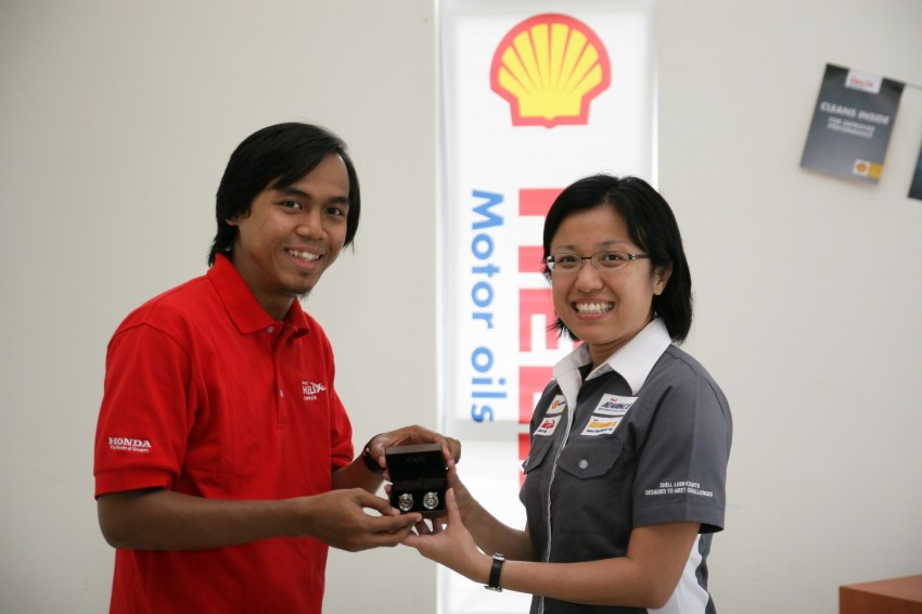 Shell Helix D-Academy: 42 participants walked away as better drivers! Image #88715