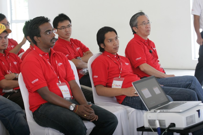 Shell Helix D-Academy: 42 participants walked away as better drivers! Image #88716