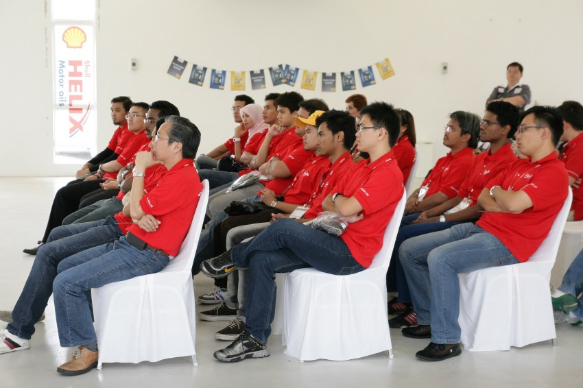 Shell Helix D-Academy: 42 participants walked away as better drivers! Image #88717