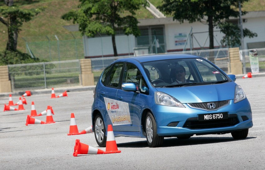 Shell Helix D-Academy: 42 participants walked away as better drivers! Image #88387