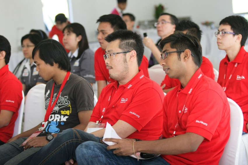 Shell Helix D-Academy: 42 participants walked away as better drivers! Image #88675