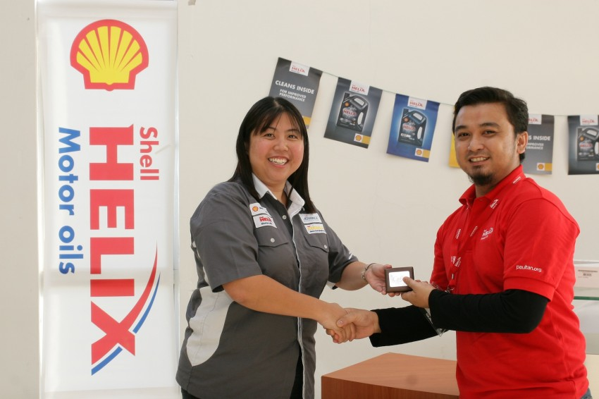 Shell Helix D-Academy: 42 participants walked away as better drivers! Image #88724