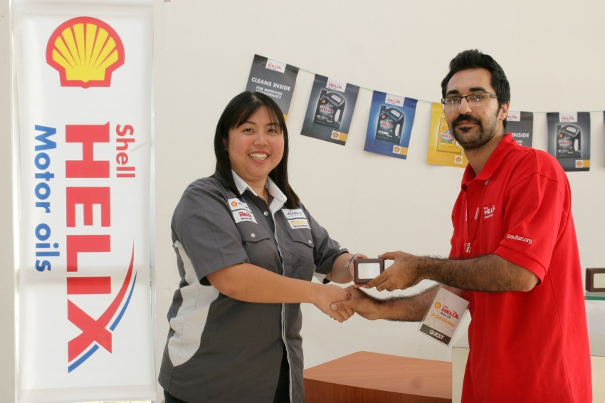 Shell Helix D-Academy: 42 participants walked away as better drivers! Image #88725
