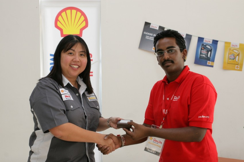 Shell Helix D-Academy: 42 participants walked away as better drivers! Image #88726